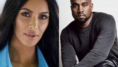 Kanye west and Kim Kardashain