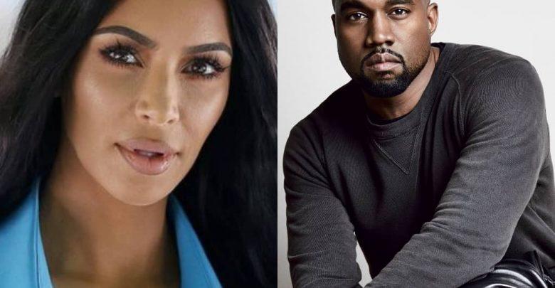 Kanye west and Kim Kardashain