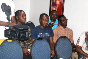 men in worship press launch